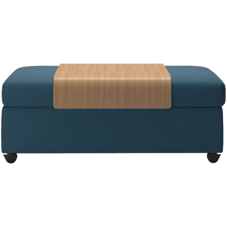 (product) Stressless Double Ottoman with Storage