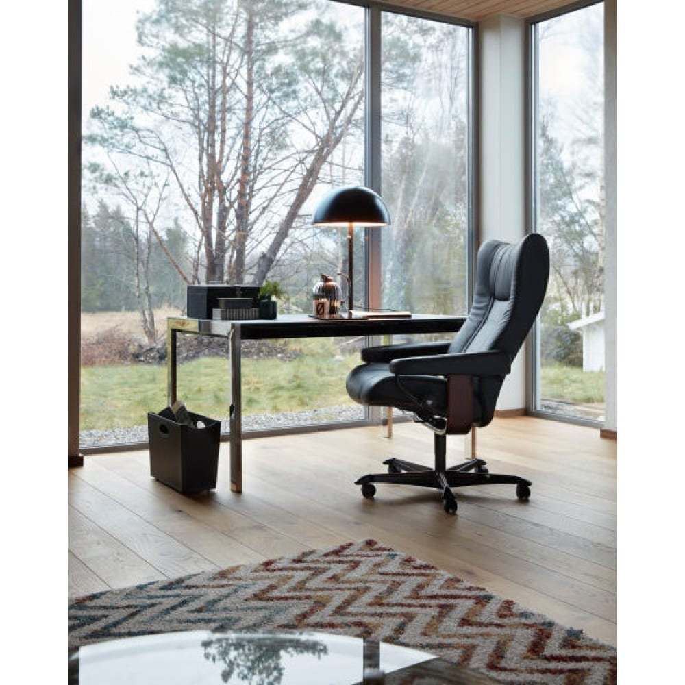 (product) Stressless Wing Office Chair / Recliner