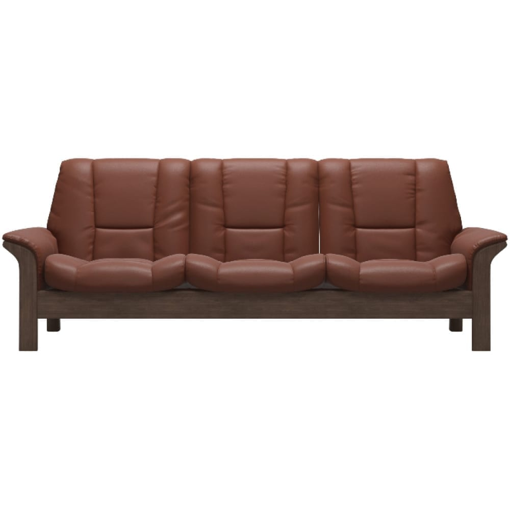 (product) Stressless Buckingham Low-Back Sofa