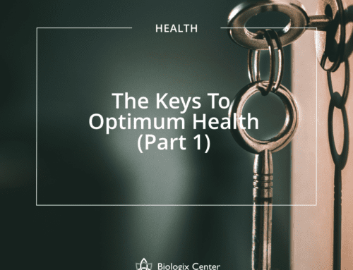 The Keys To Optimum Health (Part 1)